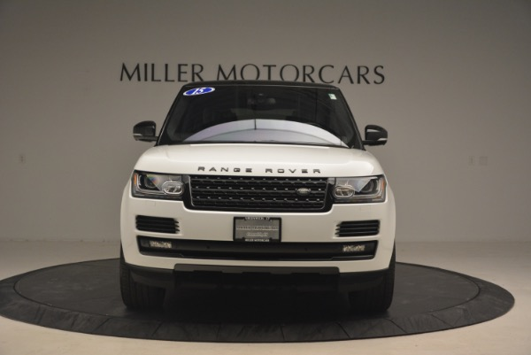 Used 2015 Land Rover Range Rover Supercharged for sale Sold at Rolls-Royce Motor Cars Greenwich in Greenwich CT 06830 12
