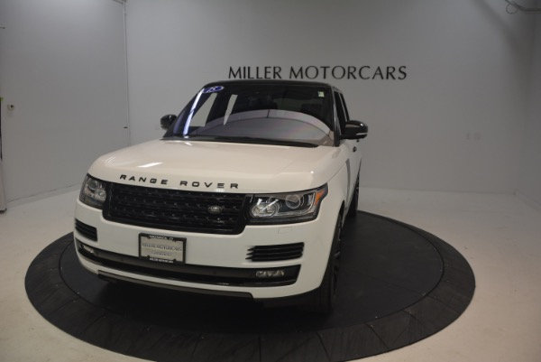 Used 2015 Land Rover Range Rover Supercharged for sale Sold at Rolls-Royce Motor Cars Greenwich in Greenwich CT 06830 13