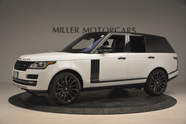 Used 2015 Land Rover Range Rover Supercharged for sale Sold at Rolls-Royce Motor Cars Greenwich in Greenwich CT 06830 2