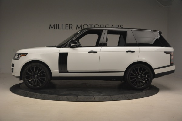 Used 2015 Land Rover Range Rover Supercharged for sale Sold at Rolls-Royce Motor Cars Greenwich in Greenwich CT 06830 3