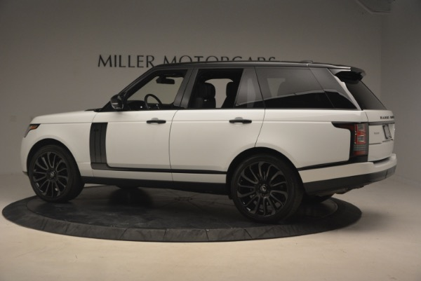 Used 2015 Land Rover Range Rover Supercharged for sale Sold at Rolls-Royce Motor Cars Greenwich in Greenwich CT 06830 4