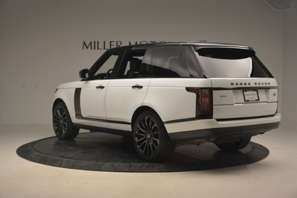 Used 2015 Land Rover Range Rover Supercharged for sale Sold at Rolls-Royce Motor Cars Greenwich in Greenwich CT 06830 5
