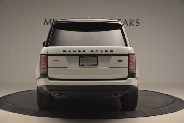 Used 2015 Land Rover Range Rover Supercharged for sale Sold at Rolls-Royce Motor Cars Greenwich in Greenwich CT 06830 6
