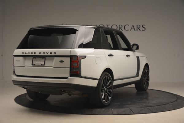 Used 2015 Land Rover Range Rover Supercharged for sale Sold at Rolls-Royce Motor Cars Greenwich in Greenwich CT 06830 7