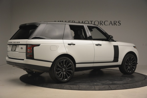 Used 2015 Land Rover Range Rover Supercharged for sale Sold at Rolls-Royce Motor Cars Greenwich in Greenwich CT 06830 8