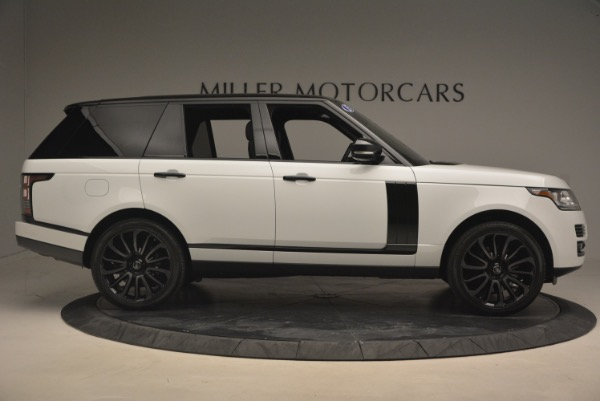 Used 2015 Land Rover Range Rover Supercharged for sale Sold at Rolls-Royce Motor Cars Greenwich in Greenwich CT 06830 9