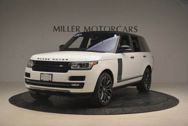 Used 2015 Land Rover Range Rover Supercharged for sale Sold at Rolls-Royce Motor Cars Greenwich in Greenwich CT 06830 1