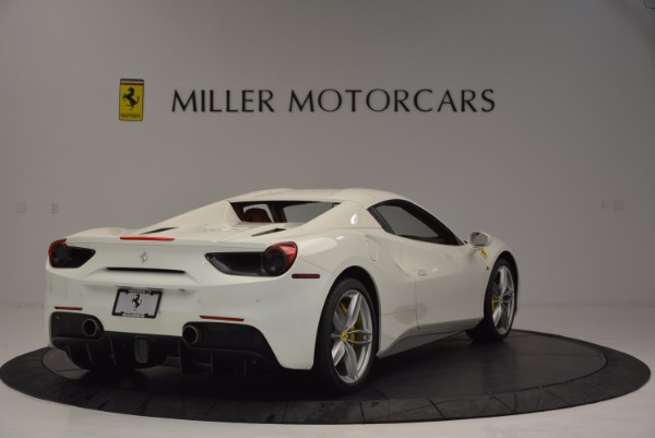 Used 2017 Ferrari 488 Spider for sale Sold at Rolls-Royce Motor Cars Greenwich in Greenwich CT 06830 19