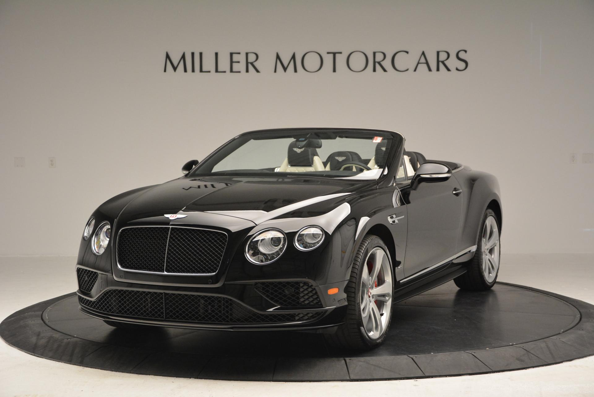 New 2016 Bentley Continental GT V8 S Convertible for sale Sold at Rolls-Royce Motor Cars Greenwich in Greenwich CT 06830 1