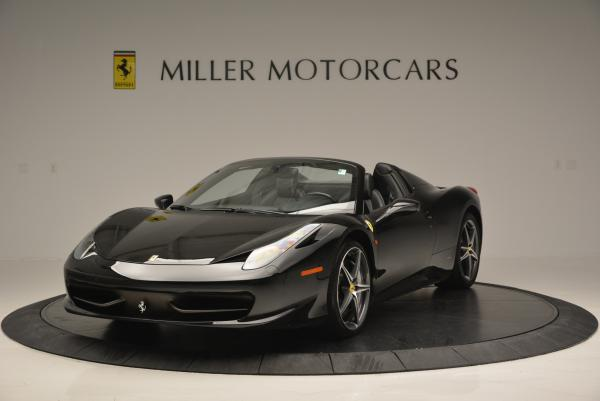 Used 2012 Ferrari 458 Spider for sale Sold at Rolls-Royce Motor Cars Greenwich in Greenwich CT 06830 1