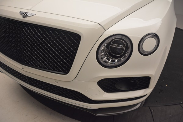 Used 2018 Bentley Bentayga Black Edition for sale Sold at Rolls-Royce Motor Cars Greenwich in Greenwich CT 06830 14
