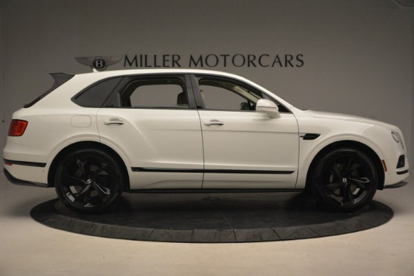 Used 2018 Bentley Bentayga Black Edition for sale Sold at Rolls-Royce Motor Cars Greenwich in Greenwich CT 06830 9