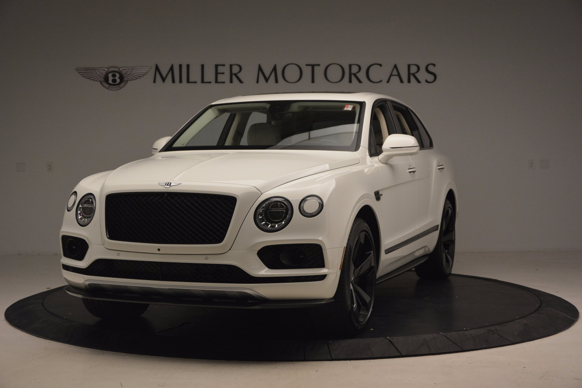 Used 2018 Bentley Bentayga Black Edition for sale Sold at Rolls-Royce Motor Cars Greenwich in Greenwich CT 06830 1