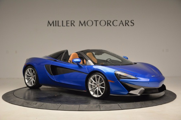 Used 2018 McLaren 570S Spider for sale Call for price at Rolls-Royce Motor Cars Greenwich in Greenwich CT 06830 10
