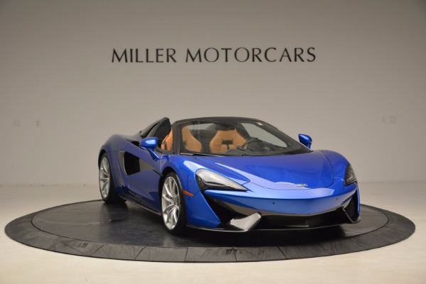 Used 2018 McLaren 570S Spider for sale Call for price at Rolls-Royce Motor Cars Greenwich in Greenwich CT 06830 11