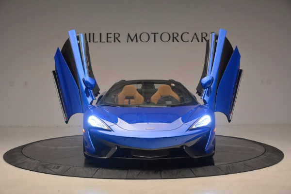 Used 2018 McLaren 570S Spider for sale Call for price at Rolls-Royce Motor Cars Greenwich in Greenwich CT 06830 13