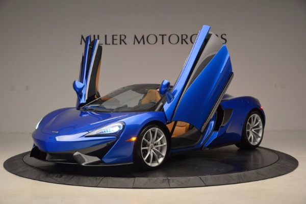 Used 2018 McLaren 570S Spider for sale Call for price at Rolls-Royce Motor Cars Greenwich in Greenwich CT 06830 14