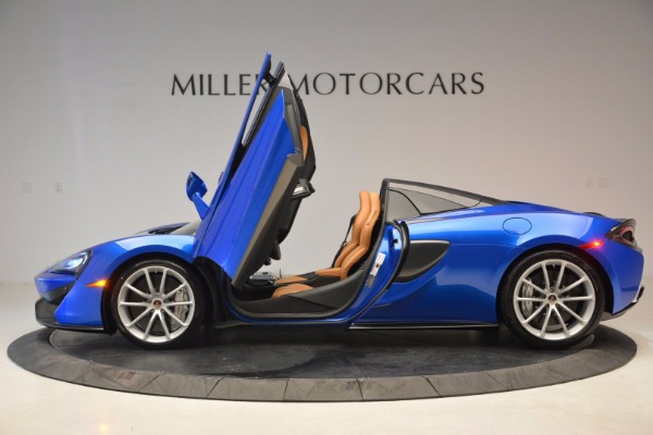 Used 2018 McLaren 570S Spider for sale Call for price at Rolls-Royce Motor Cars Greenwich in Greenwich CT 06830 15