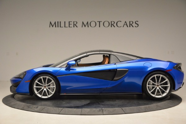 Used 2018 McLaren 570S Spider for sale Call for price at Rolls-Royce Motor Cars Greenwich in Greenwich CT 06830 16