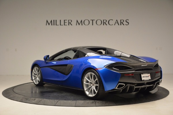Used 2018 McLaren 570S Spider for sale Call for price at Rolls-Royce Motor Cars Greenwich in Greenwich CT 06830 17