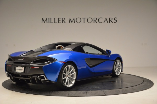 Used 2018 McLaren 570S Spider for sale Call for price at Rolls-Royce Motor Cars Greenwich in Greenwich CT 06830 19