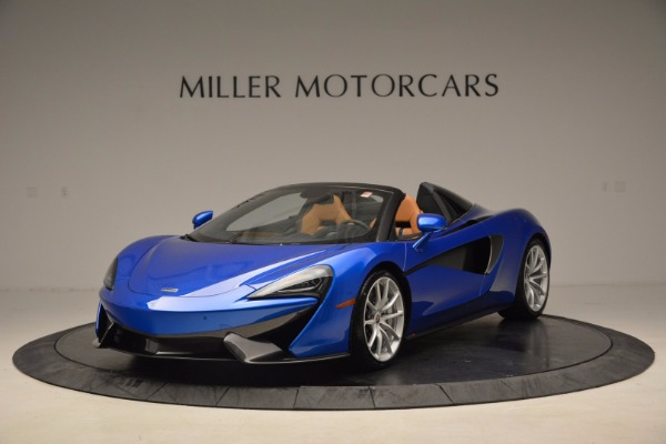 Used 2018 McLaren 570S Spider for sale Call for price at Rolls-Royce Motor Cars Greenwich in Greenwich CT 06830 2