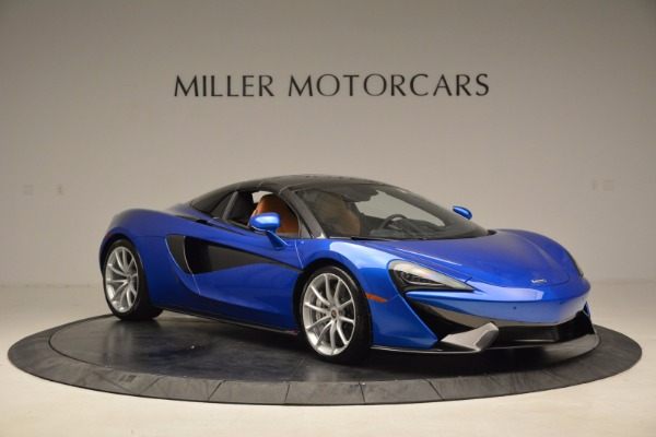 Used 2018 McLaren 570S Spider for sale Call for price at Rolls-Royce Motor Cars Greenwich in Greenwich CT 06830 21