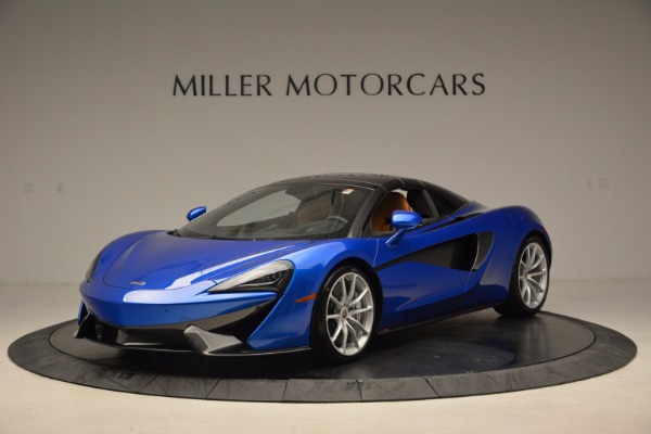 Used 2018 McLaren 570S Spider for sale Call for price at Rolls-Royce Motor Cars Greenwich in Greenwich CT 06830 23