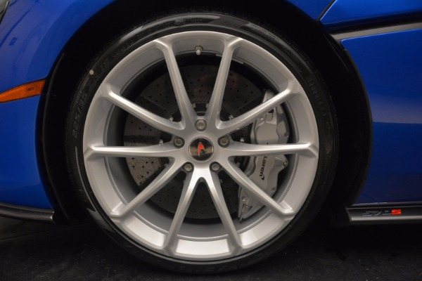 Used 2018 McLaren 570S Spider for sale Call for price at Rolls-Royce Motor Cars Greenwich in Greenwich CT 06830 24