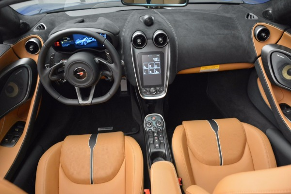 Used 2018 McLaren 570S Spider for sale Sold at Rolls-Royce Motor Cars Greenwich in Greenwich CT 06830 28