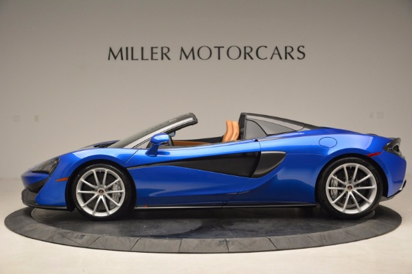 Used 2018 McLaren 570S Spider for sale Call for price at Rolls-Royce Motor Cars Greenwich in Greenwich CT 06830 3