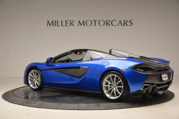 Used 2018 McLaren 570S Spider for sale Call for price at Rolls-Royce Motor Cars Greenwich in Greenwich CT 06830 4