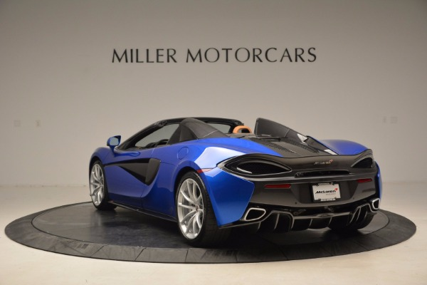 Used 2018 McLaren 570S Spider for sale Call for price at Rolls-Royce Motor Cars Greenwich in Greenwich CT 06830 5