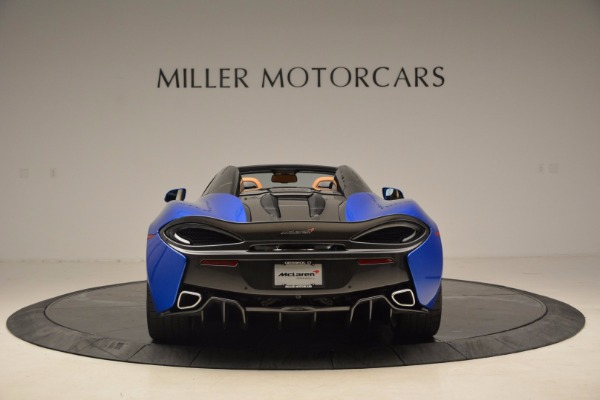 Used 2018 McLaren 570S Spider for sale Call for price at Rolls-Royce Motor Cars Greenwich in Greenwich CT 06830 6