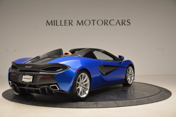 Used 2018 McLaren 570S Spider for sale Call for price at Rolls-Royce Motor Cars Greenwich in Greenwich CT 06830 7