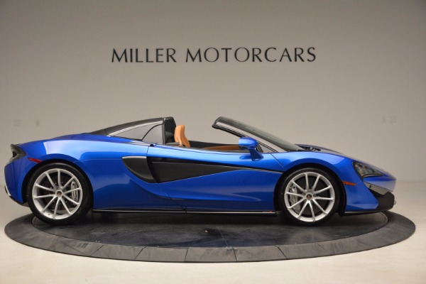 Used 2018 McLaren 570S Spider for sale Call for price at Rolls-Royce Motor Cars Greenwich in Greenwich CT 06830 9