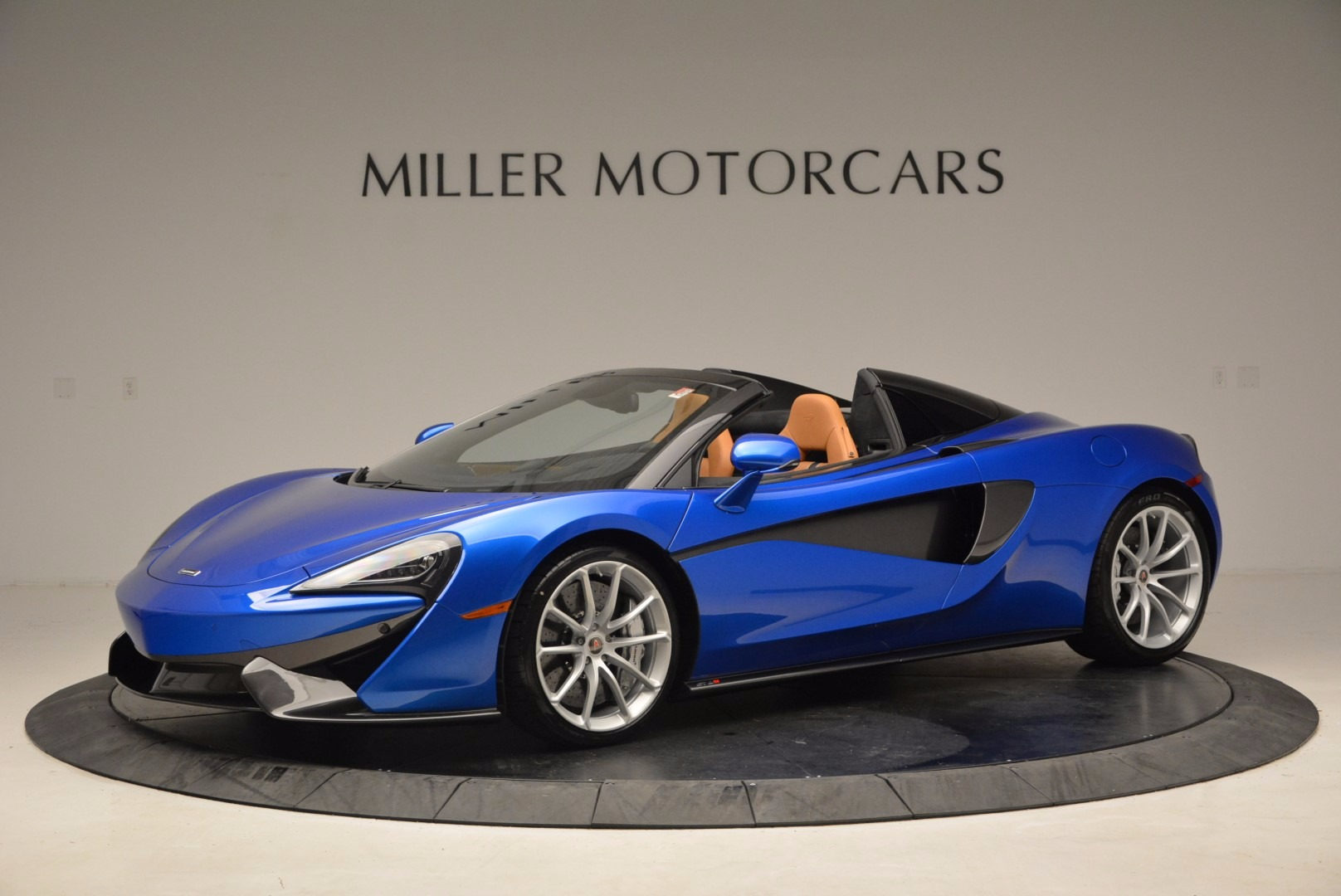 Used 2018 McLaren 570S Spider for sale Call for price at Rolls-Royce Motor Cars Greenwich in Greenwich CT 06830 1