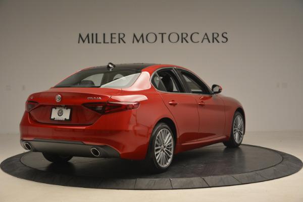 New 2017 Alfa Romeo Giulia Ti Q4 for sale Sold at Rolls-Royce Motor Cars Greenwich in Greenwich CT 06830 7