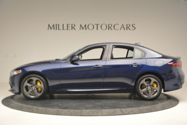 New 2017 Alfa Romeo Giulia Q4 for sale Sold at Rolls-Royce Motor Cars Greenwich in Greenwich CT 06830 3
