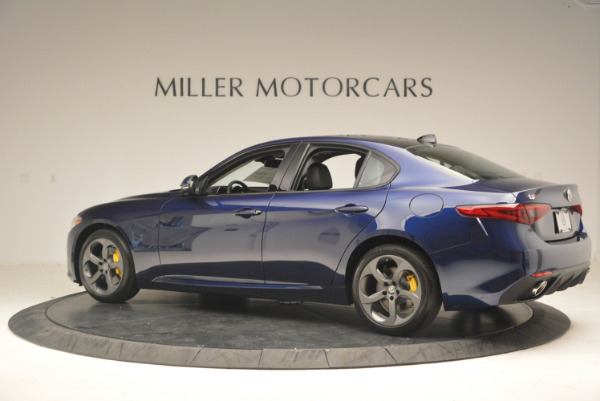 New 2017 Alfa Romeo Giulia Q4 for sale Sold at Rolls-Royce Motor Cars Greenwich in Greenwich CT 06830 4