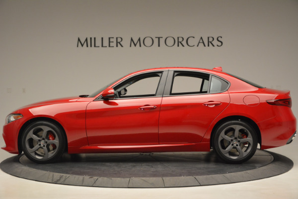 New 2017 Alfa Romeo Giulia Sport Q4 for sale Sold at Rolls-Royce Motor Cars Greenwich in Greenwich CT 06830 3