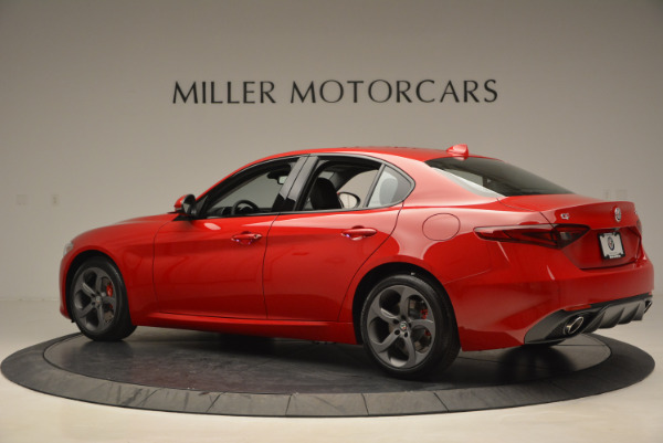 New 2017 Alfa Romeo Giulia Sport Q4 for sale Sold at Rolls-Royce Motor Cars Greenwich in Greenwich CT 06830 4
