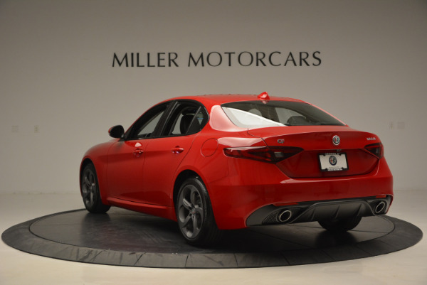 New 2017 Alfa Romeo Giulia Sport Q4 for sale Sold at Rolls-Royce Motor Cars Greenwich in Greenwich CT 06830 5