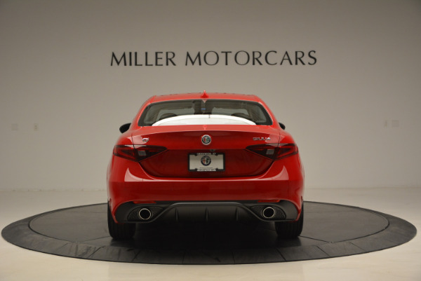 New 2017 Alfa Romeo Giulia Sport Q4 for sale Sold at Rolls-Royce Motor Cars Greenwich in Greenwich CT 06830 6