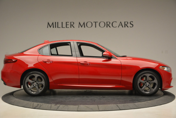 New 2017 Alfa Romeo Giulia Sport Q4 for sale Sold at Rolls-Royce Motor Cars Greenwich in Greenwich CT 06830 9