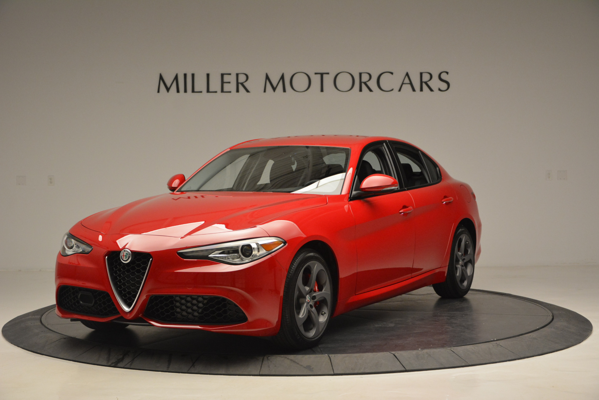 New 2017 Alfa Romeo Giulia Sport Q4 for sale Sold at Rolls-Royce Motor Cars Greenwich in Greenwich CT 06830 1