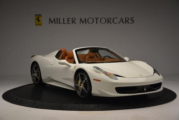 Used 2012 Ferrari 458 Spider for sale Sold at Rolls-Royce Motor Cars Greenwich in Greenwich CT 06830 11