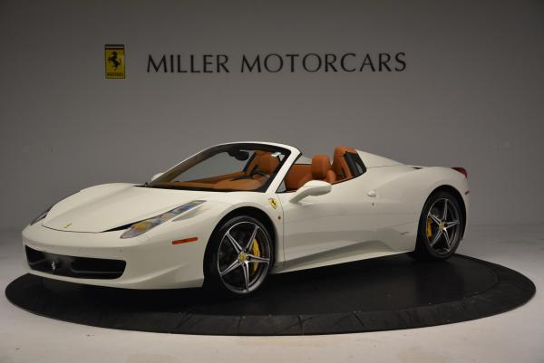 Used 2012 Ferrari 458 Spider for sale Sold at Rolls-Royce Motor Cars Greenwich in Greenwich CT 06830 2