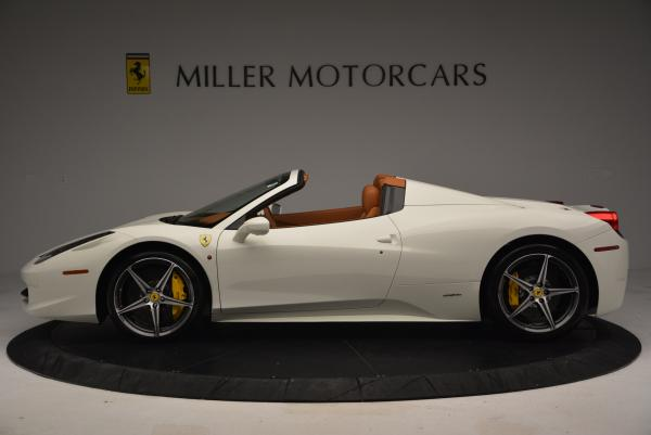 Used 2012 Ferrari 458 Spider for sale Sold at Rolls-Royce Motor Cars Greenwich in Greenwich CT 06830 3
