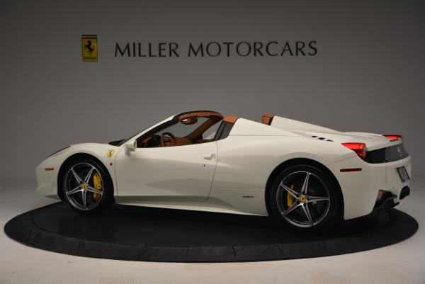 Used 2012 Ferrari 458 Spider for sale Sold at Rolls-Royce Motor Cars Greenwich in Greenwich CT 06830 4